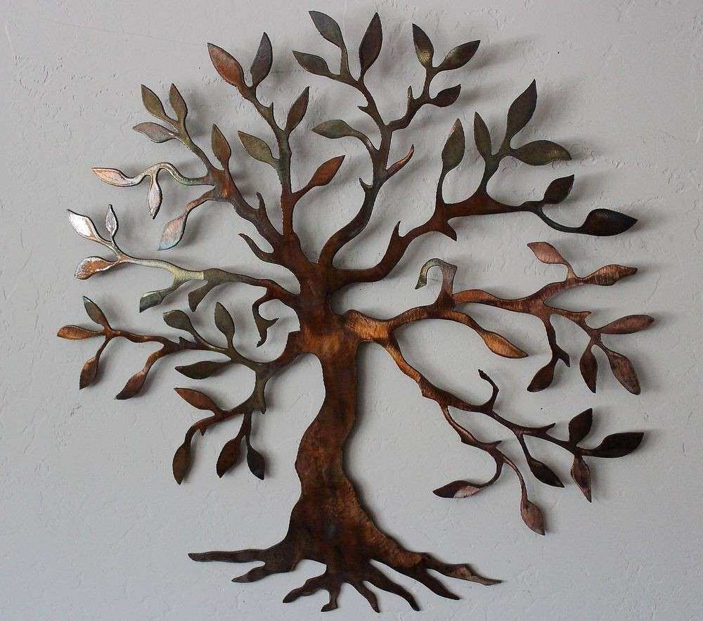 Metal Wall Art Trees With Newest Metal Tree Wall Decor Inspirational Big Metal Wall Art Tree Metal (View 20 of 20)