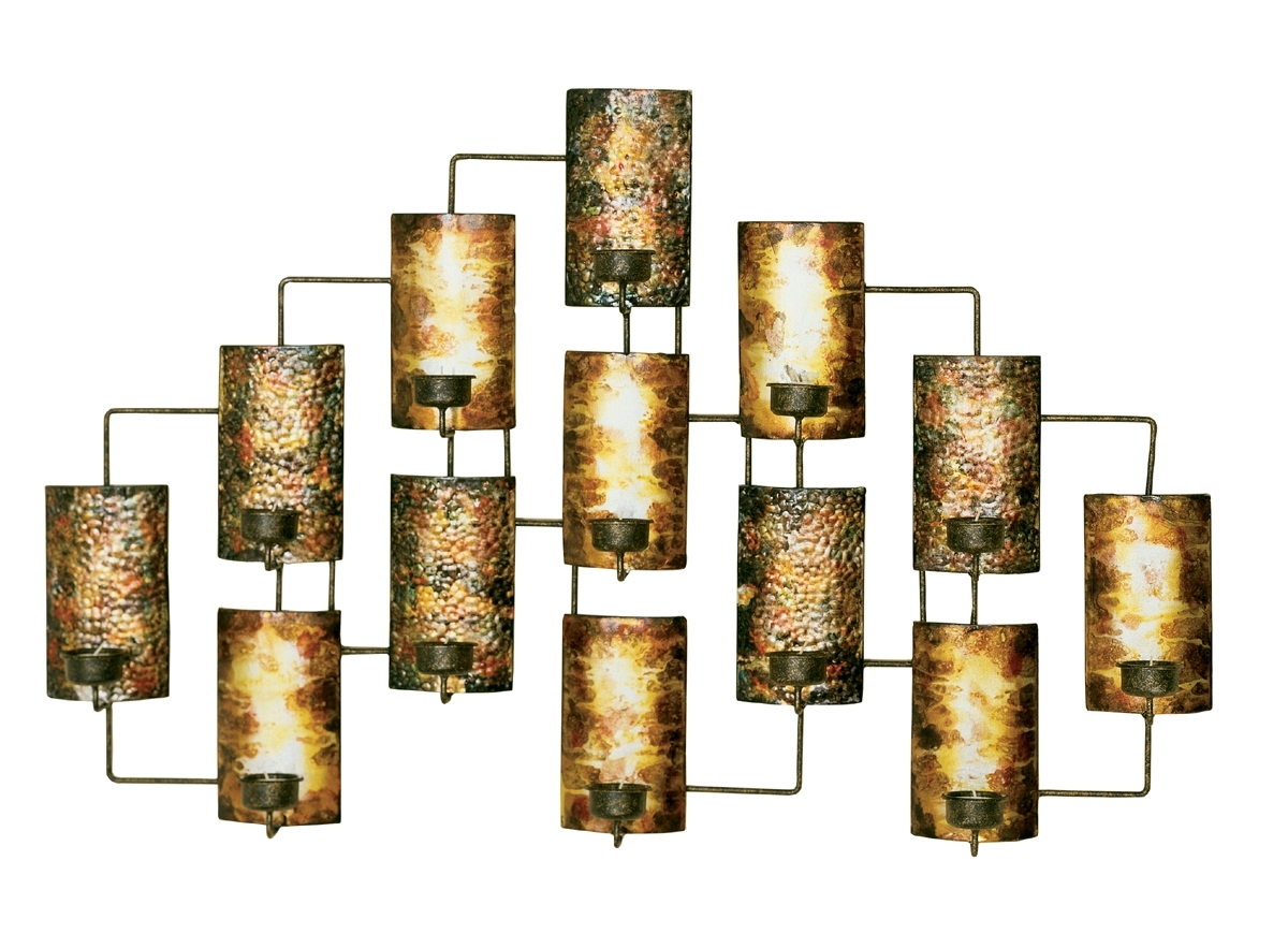 Metal Wall Decor In Aged Gold In Metallic Wall Art For Most Recently Released Gold Metal Wall Art (View 8 of 15)