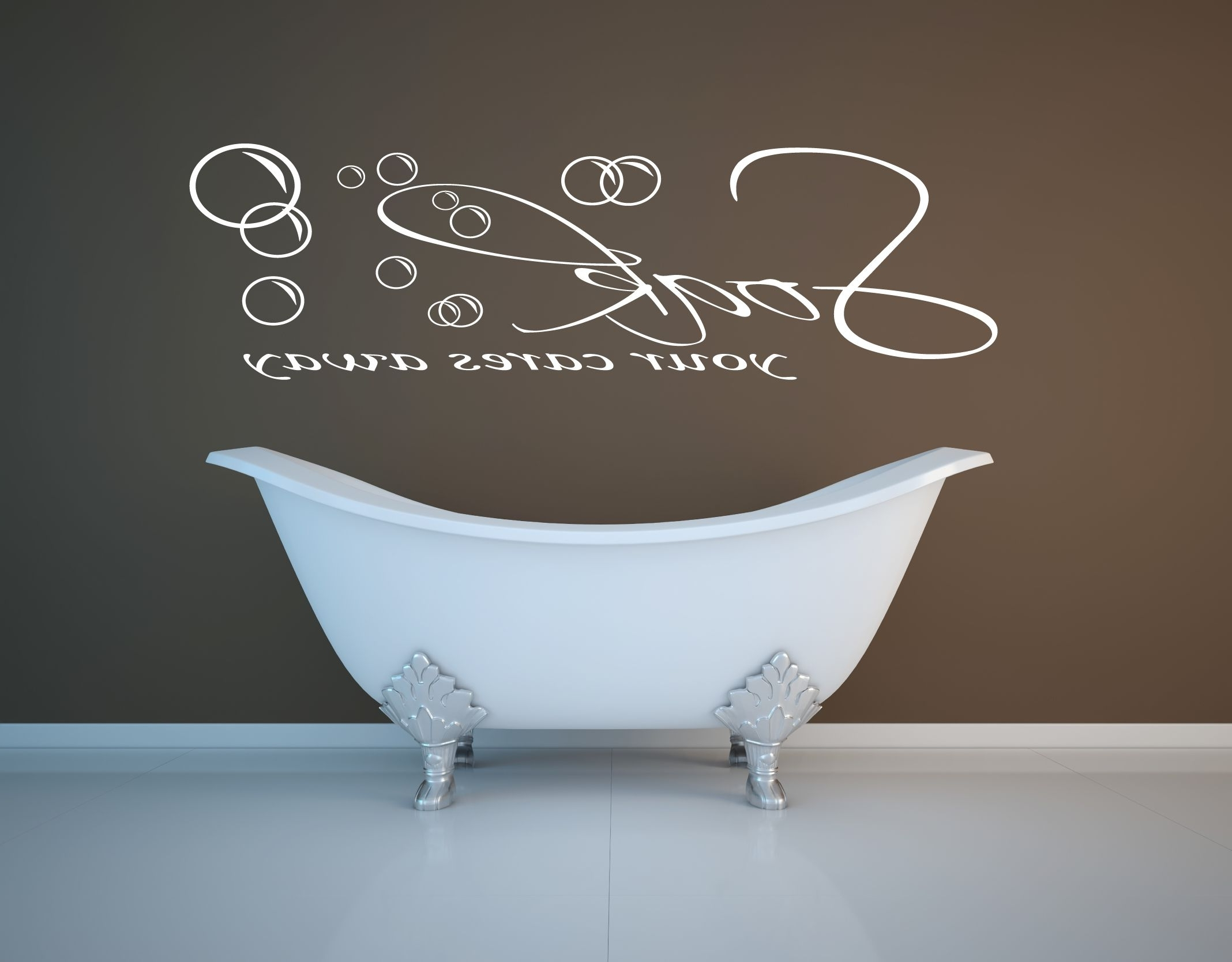 Modern Bathroom Wall Art Décor – Yonohomedesign With Regard To Latest Bathroom Wall Art (View 8 of 15)