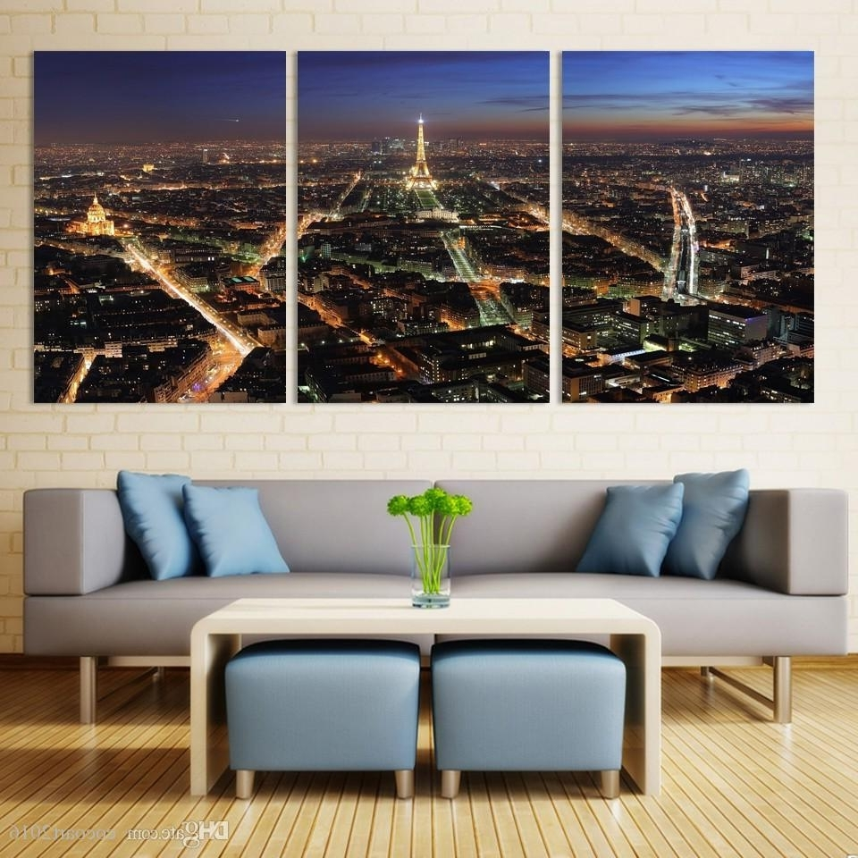 Modern Large Canvas Wall Art Pertaining To Newest Large Hd Picture Canvas Modern Artwork Wall Decorative Print (View 10 of 20)