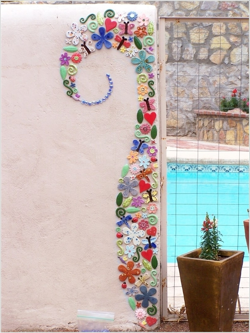 Mosaic Wall Art With Trendy 10 Mosaic Wall Art Ideas That Will Leave You Mesmerized (View 13 of 15)