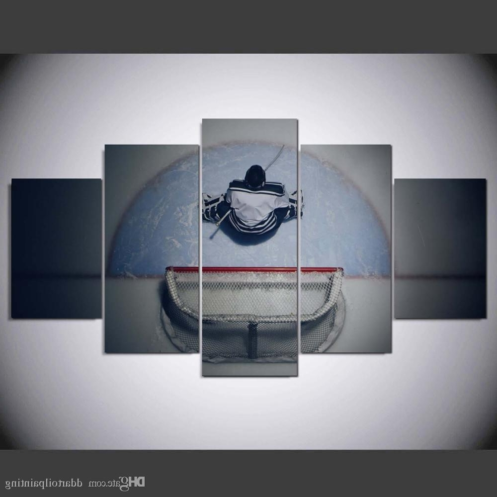 Most Current 2018 60X32 Winter Sports Hockey Art Print ,hockey Canvas Print Wall With Hockey Wall Art (View 10 of 15)