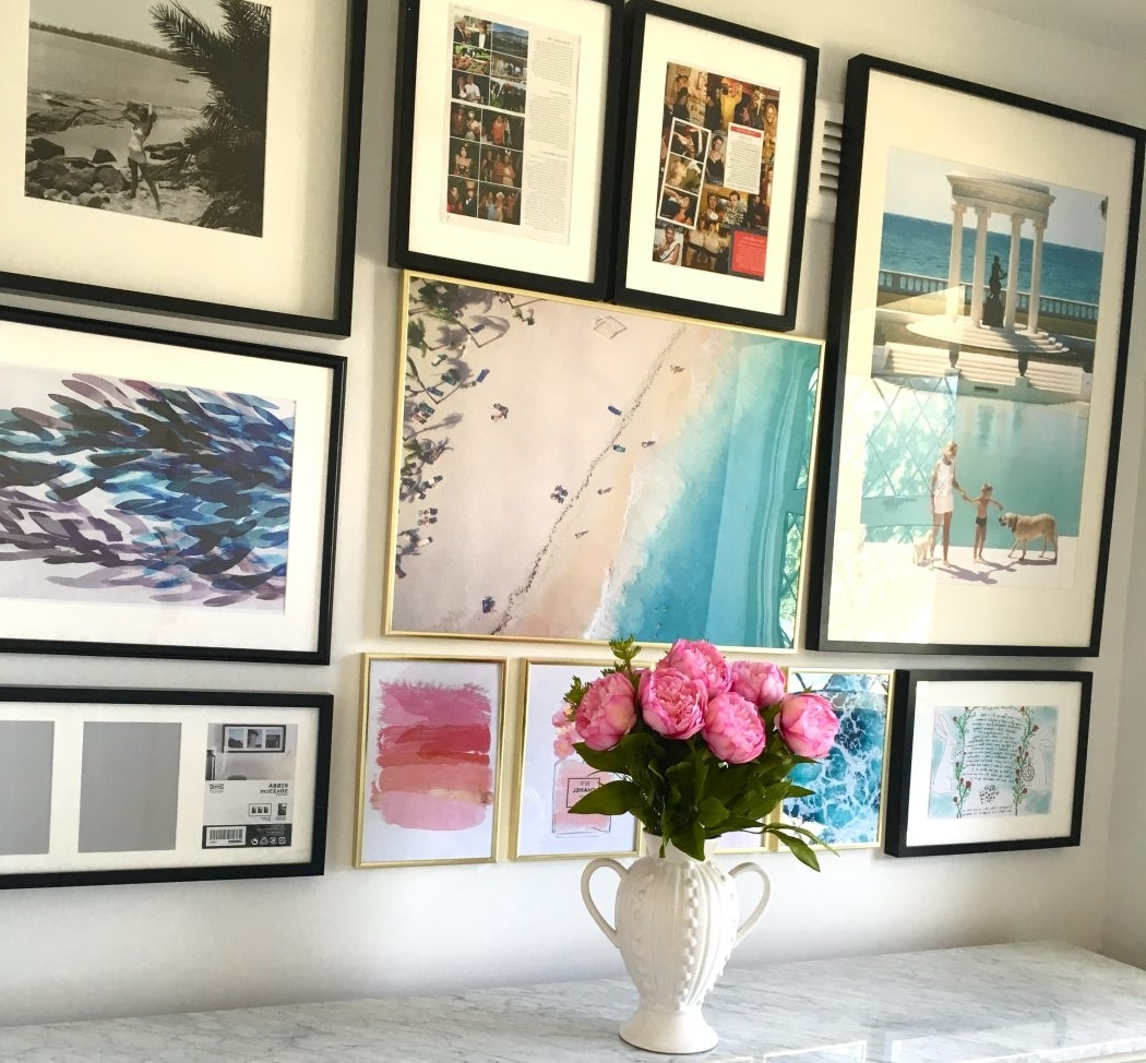 Most Current Affordable Wall Art Throughout How To Create A Gallery Wall (And Where To Find Affordable Art (Gallery 6 of 20)