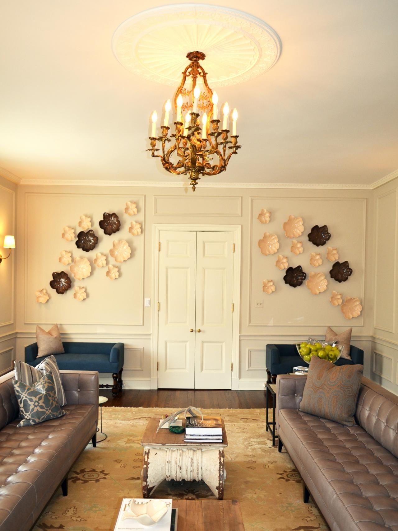 Displaying Gallery of Ceiling Medallion Wall Art (View 9 of 15 Photos)