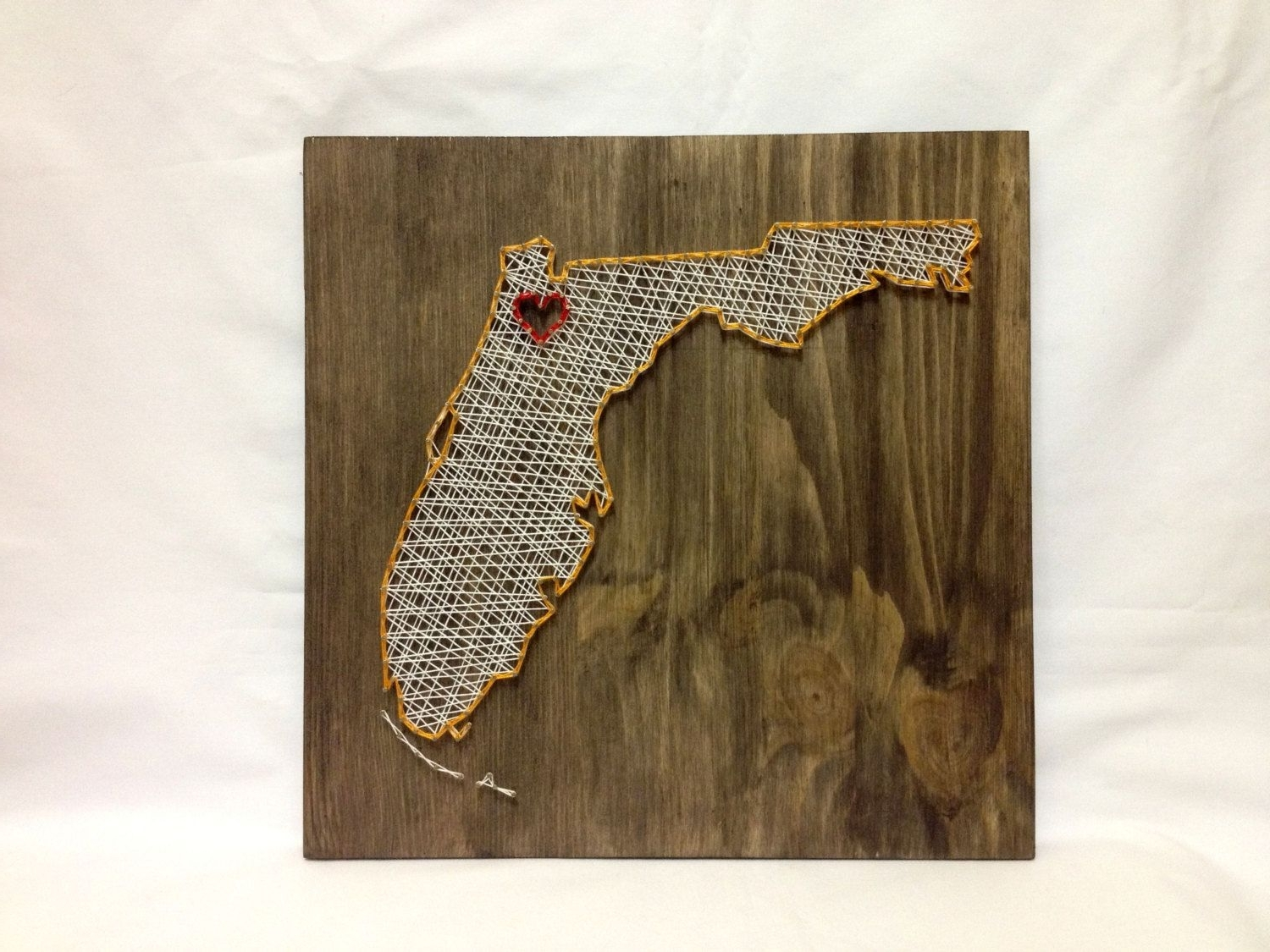 Most Current Florida State String Art Florida Wall Art Home Decor От Oneroots Regarding Florida Wall Art (View 16 of 20)