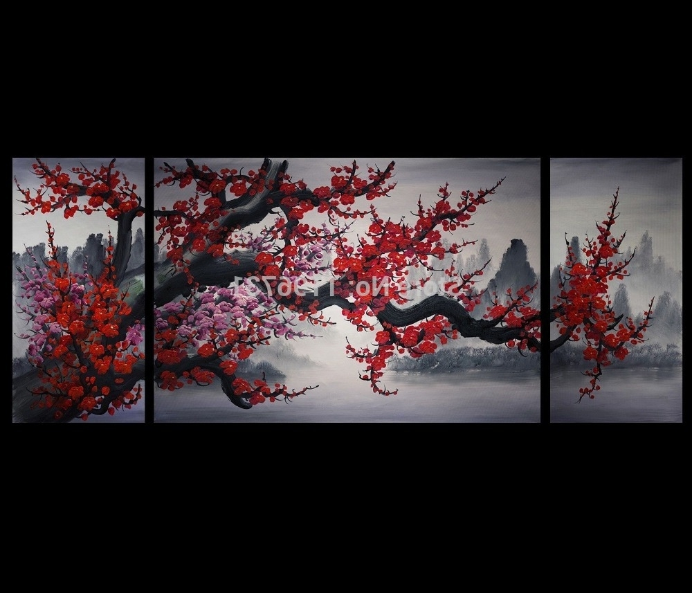 Most Current Japanese Wall Art Throughout Oilpainting Oil Painting Modern Abstract Art Painting Canvas Wall (View 3 of 20)