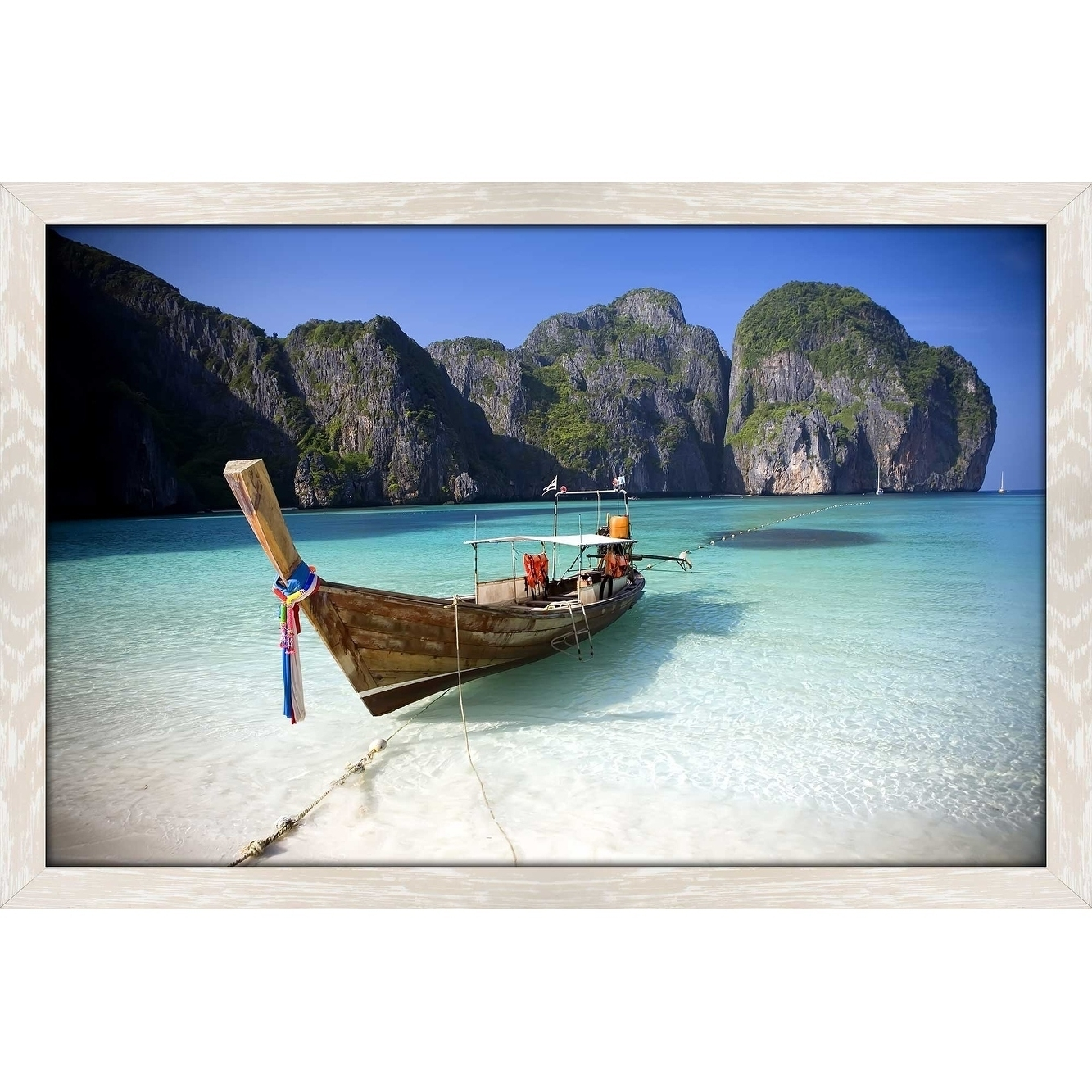 "Most Current Shop ""phi Phi Island, Thailand"" Framed Acrylic Wall Art – On Sale Inside Long Island Wall Art (Gallery 17 of 20)"