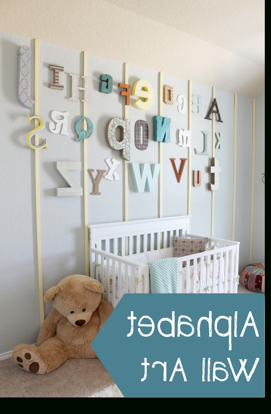Most Popular Alphabet Wall Art In 45 Alphabet Wall Art, Photo Alphabet Wall Art Best Of Alphabet Tree (View 8 of 20)