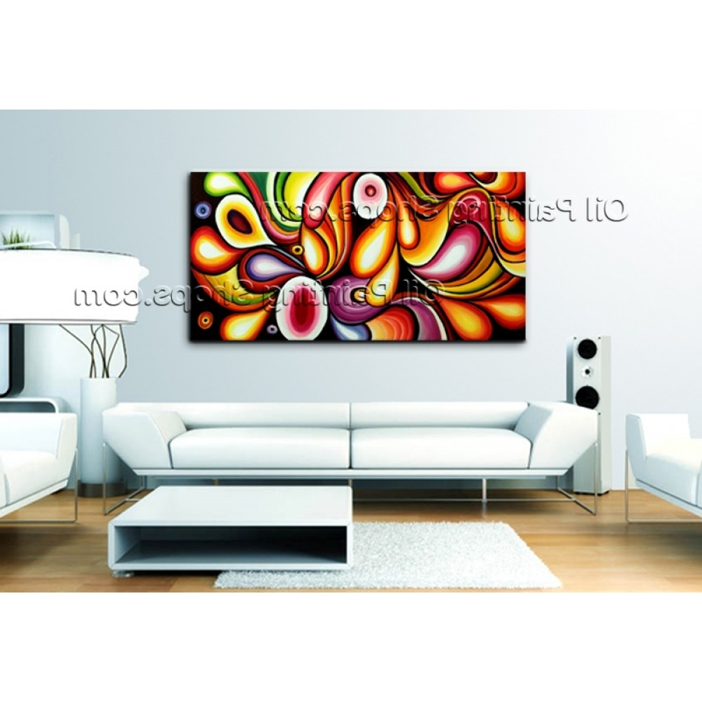 Most Popular Extra Large Wall Art Original Modern Abstract Oil Painting On With Regard To Extra Large Wall Art (View 12 of 20)
