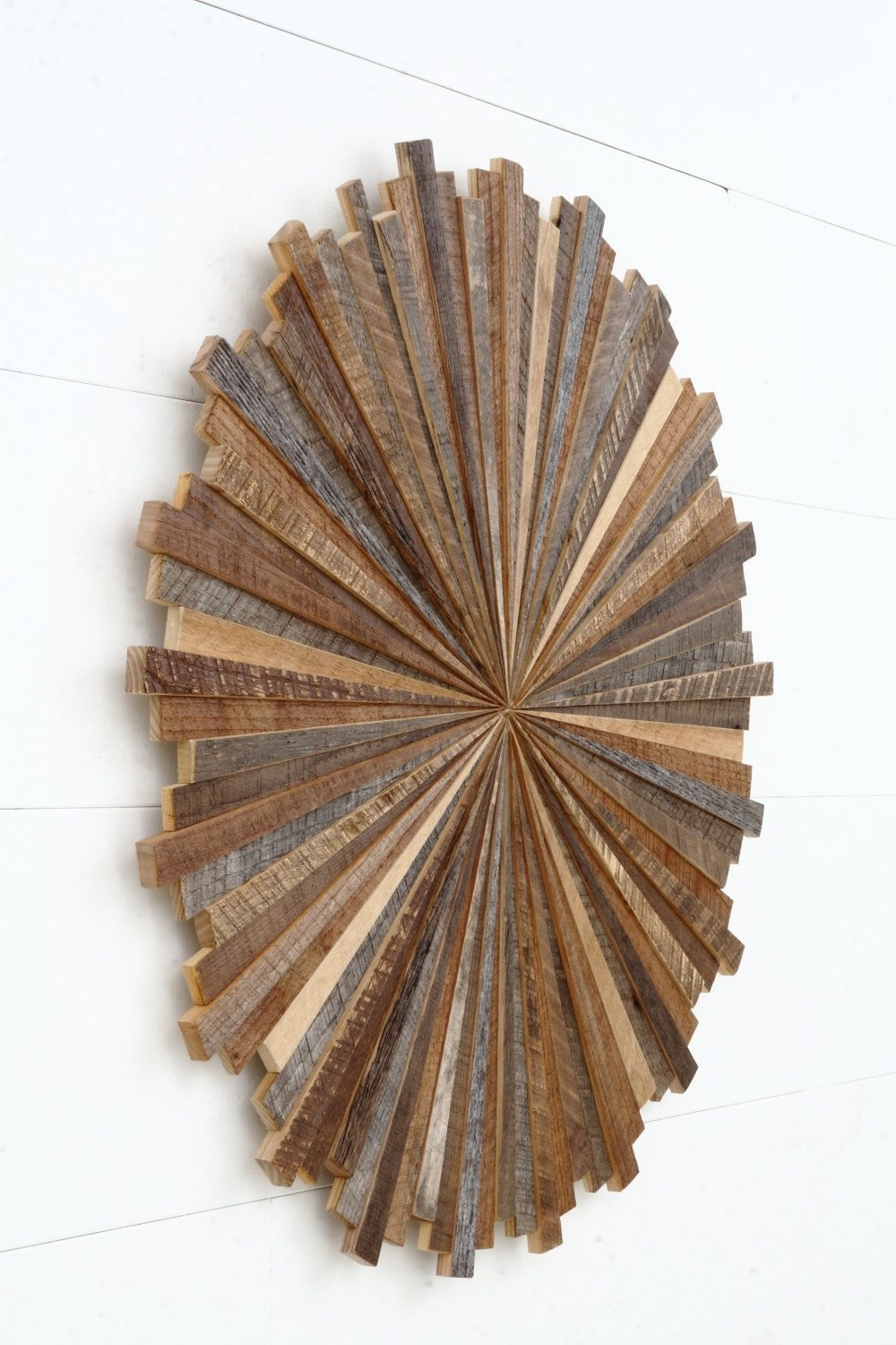 Most Popular Starburst Wood Wall Art Made With Old Reclaimedcarpentercraig Regarding Starburst Wall Art (View 9 of 20)