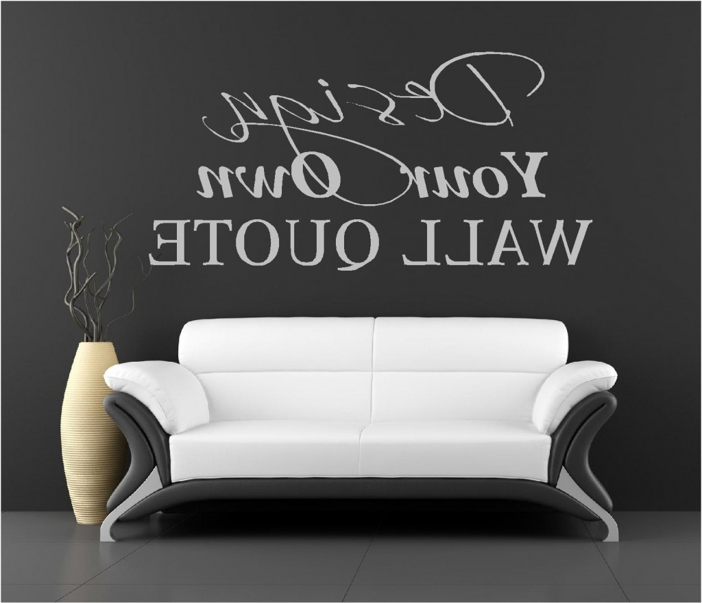 Most Popular Vinyl Wall Art Pertaining To Vinyl Wall Art – 3 – In Decors (View 6 of 15)
