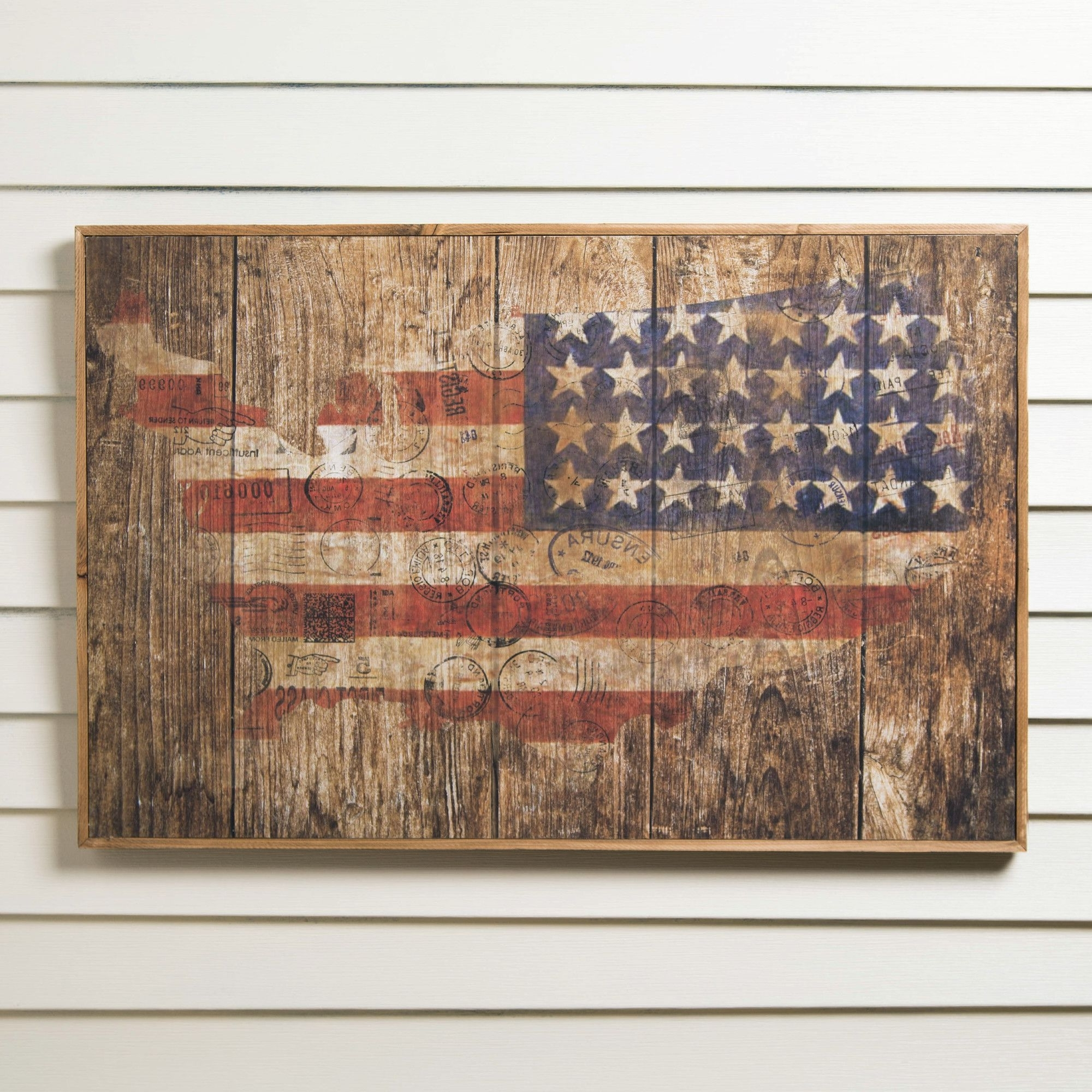 Most Recent American Flag Wood Wall Art (Gallery 20 of 20)