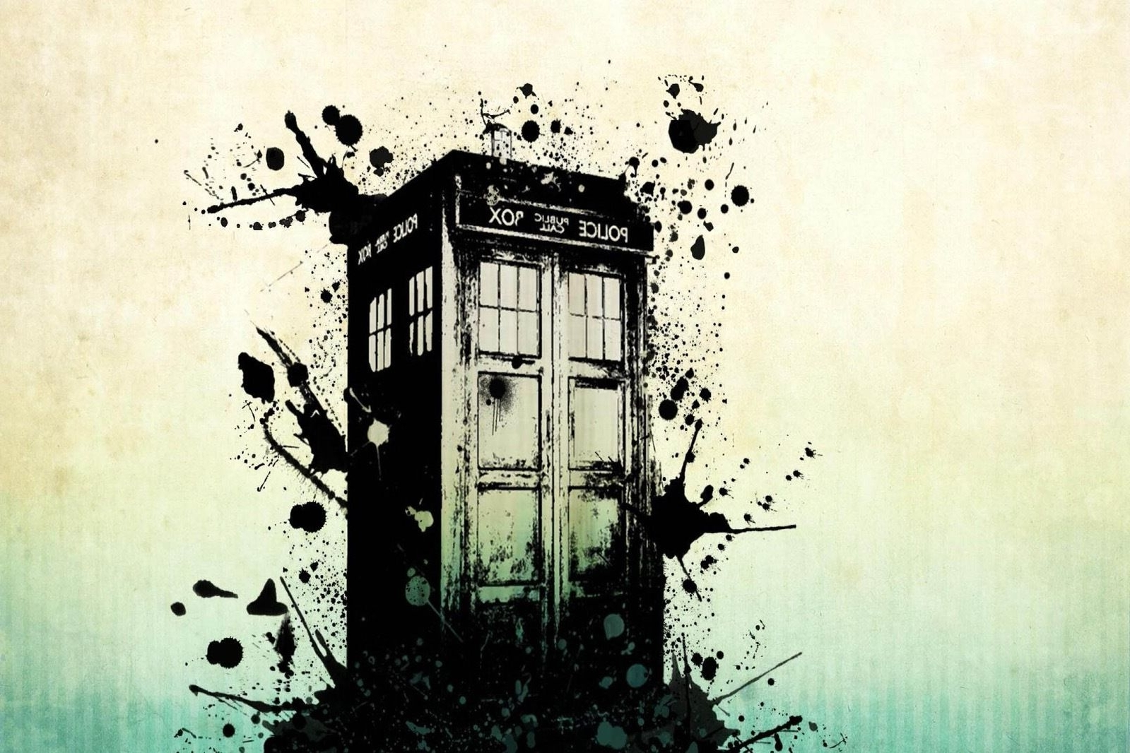 Most Recent Doctor Who Wall Art Within Xl The Tardis Art Work Doctor Who Canvas Picture Wall Art – £ (View 13 of 15)