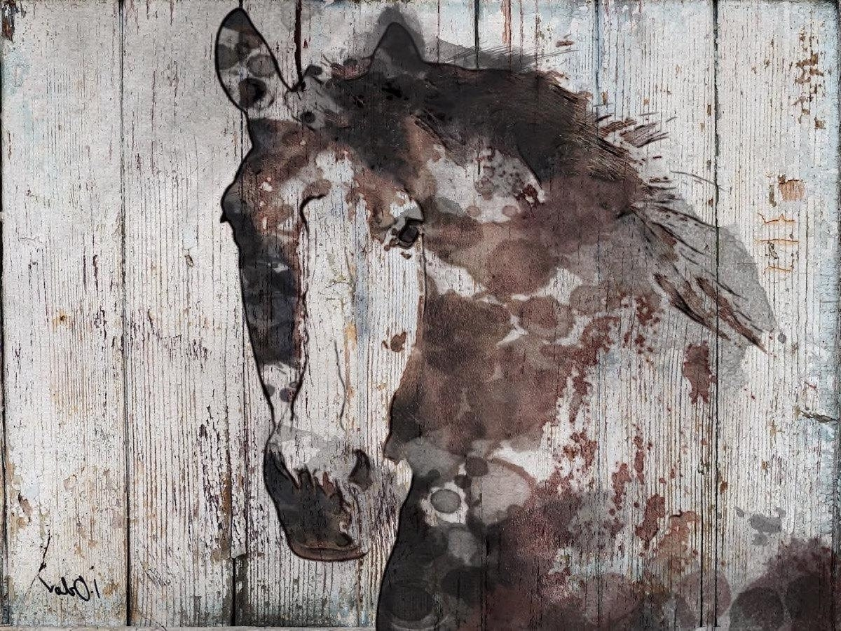 Most Recent Horses Wall Art Pertaining To Samantha B Wild Horse (View 14 of 20)