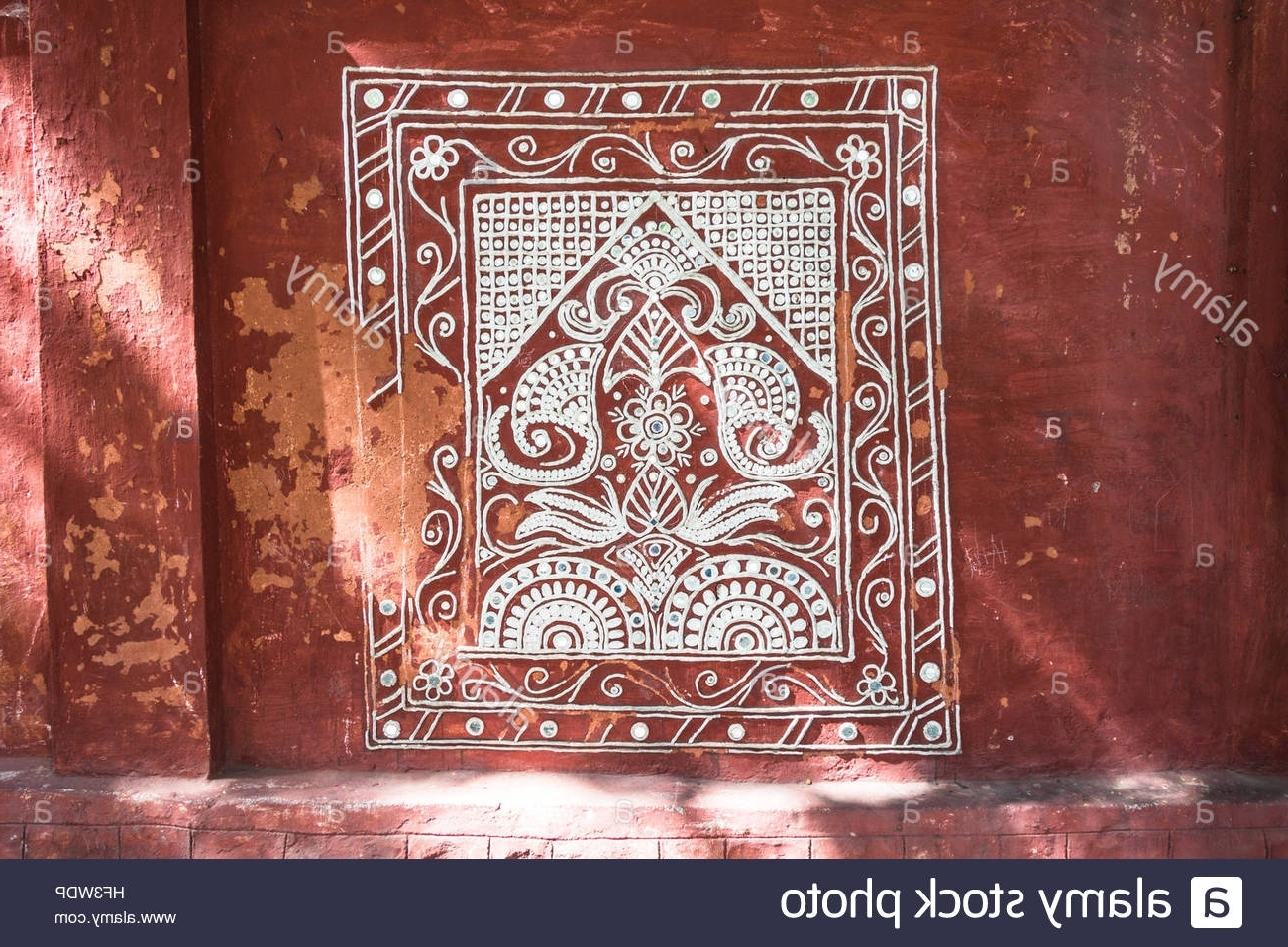Most Recent Hyderabad, India – December 24,2016 Traditional Indian Wall Art Pertaining To Traditional Wall Art (View 4 of 15)