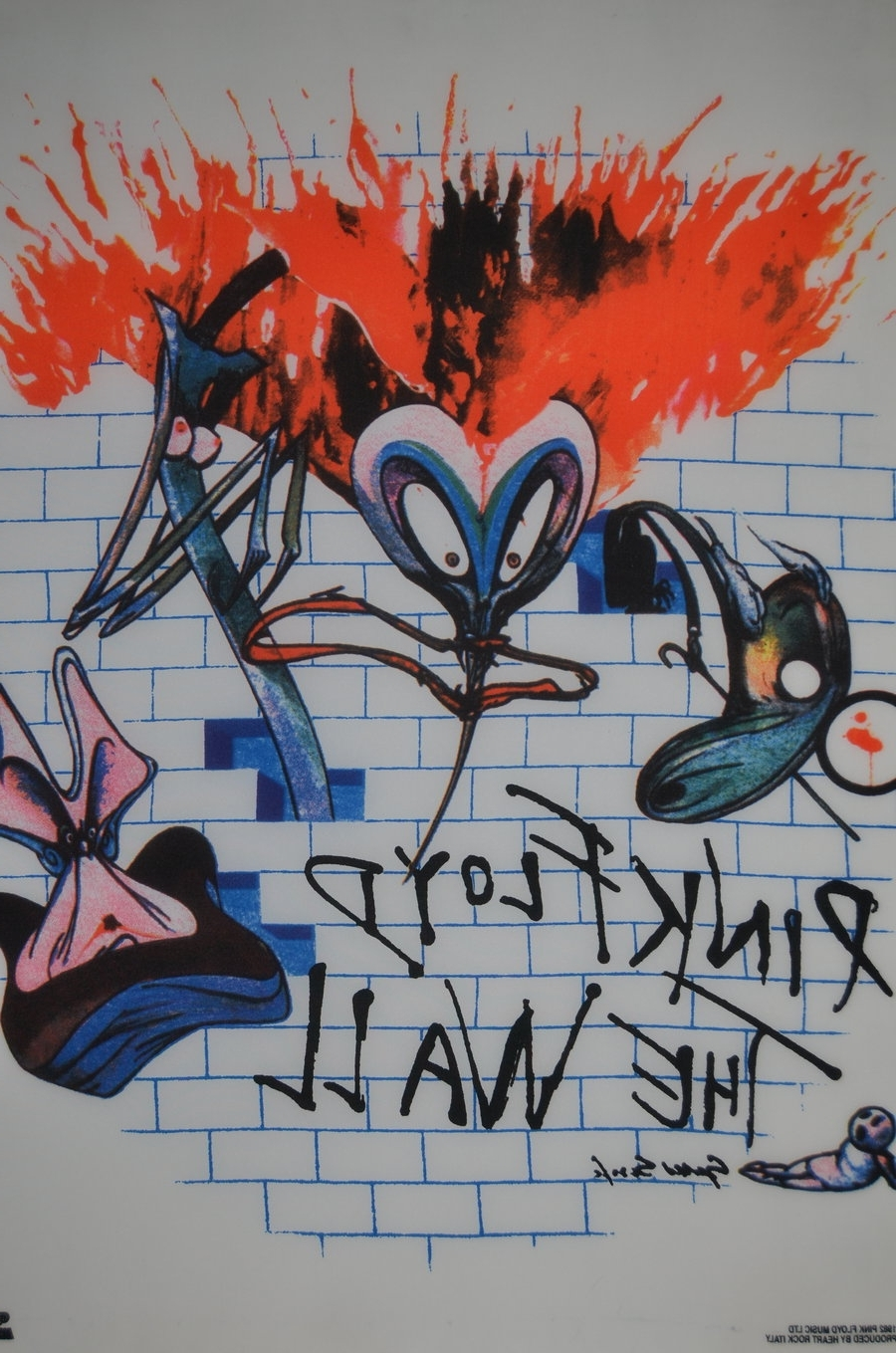 Most Recent Pink Floyd The Wall Art Intended For Pink Floyd The Walldinkok On Deviantart (View 18 of 20)