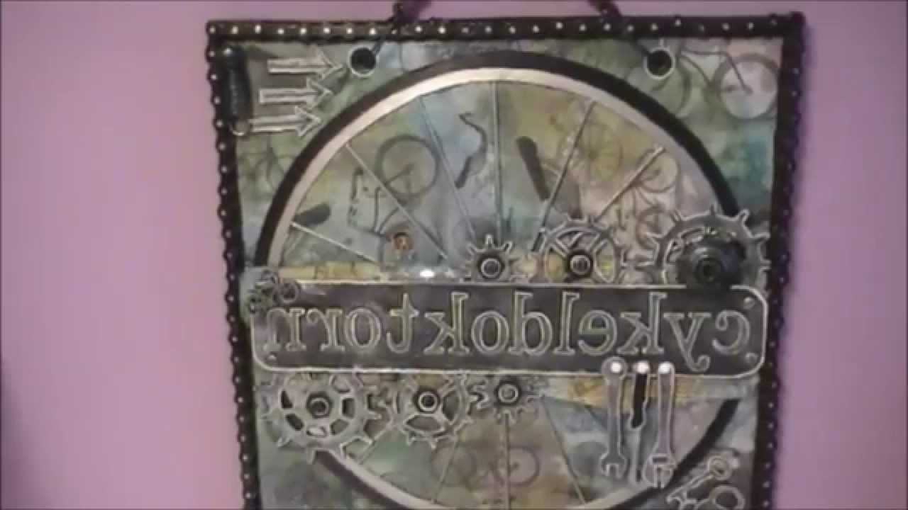 Most Recent Steampunk Mixed Media Wall Art – Youtube For Steampunk Wall Art (View 7 of 20)