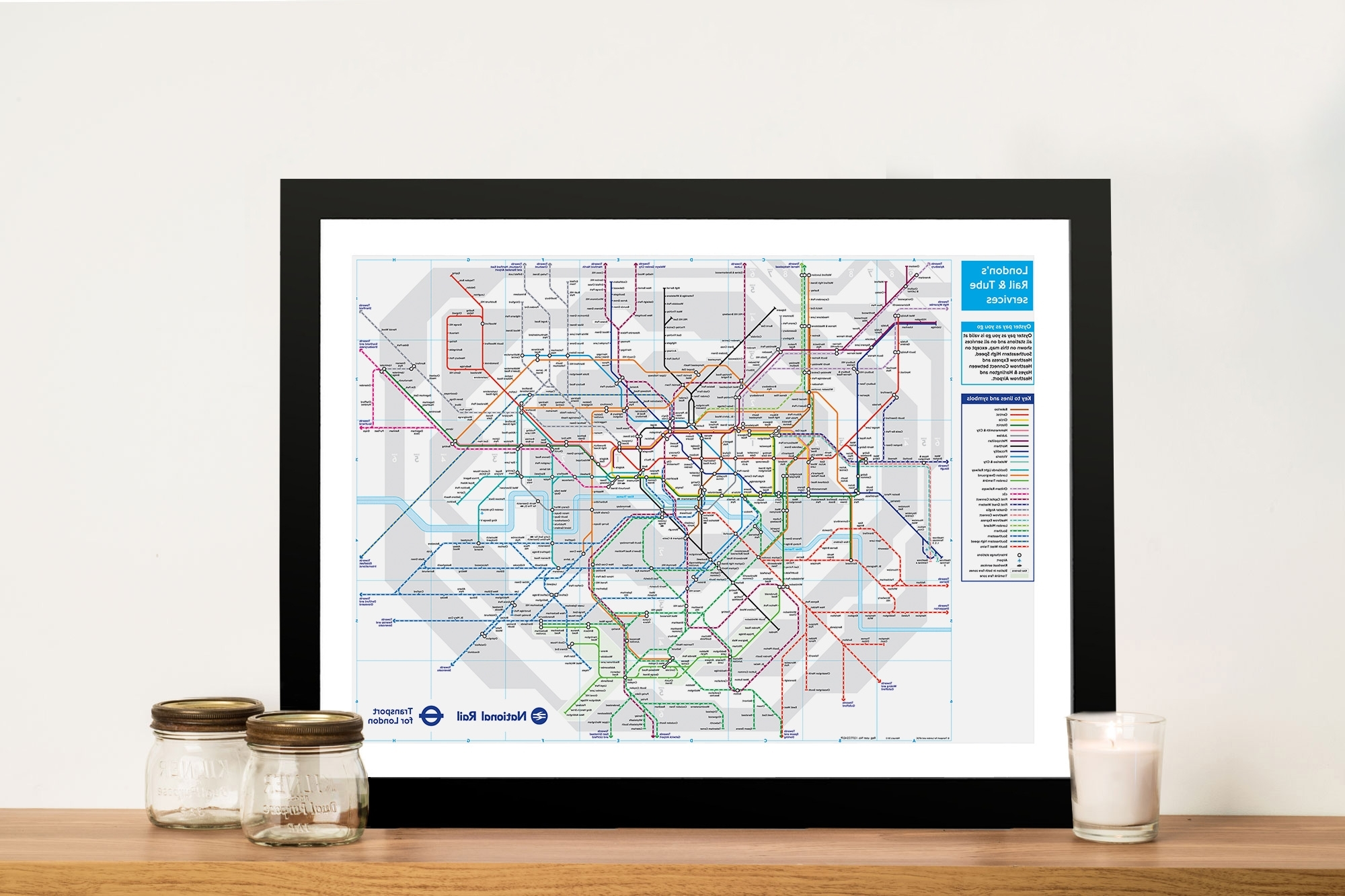 Most Recent Tube Map Wall Art Throughout London Underground Tube Map Canvas Wall Art Pictures Australia (View 6 of 20)