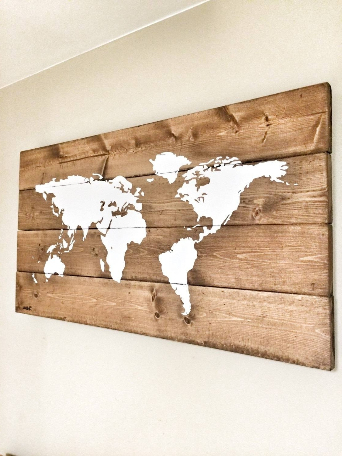 Most Recent Wood Map Wall Art In 20 The Best Wood Map Wall Art. Map Of Countries (View 5 of 20)