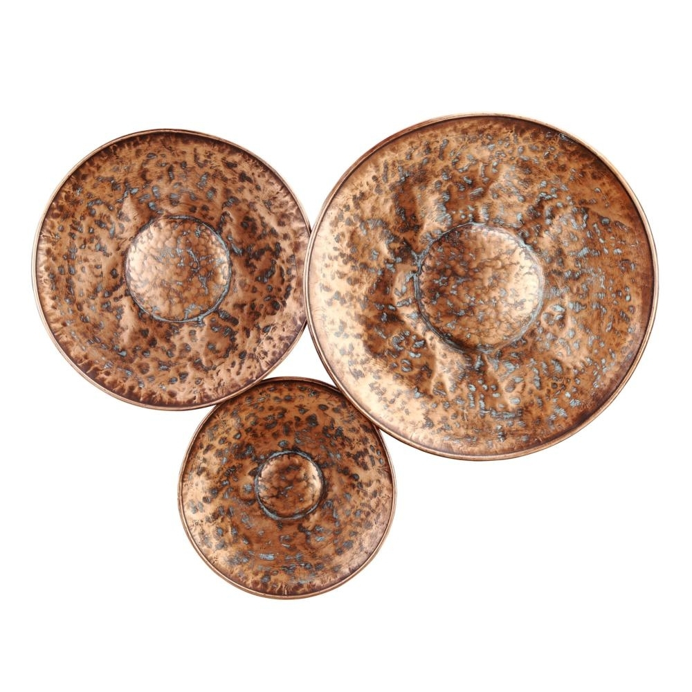 Most Recently Released Bronze Wall Art With Bronze Disc Wall Decor Large – Boulevard Urban Living (View 14 of 20)