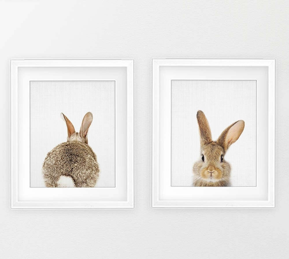 Most Recently Released Bunny Print Wall Art (View 6 of 20)