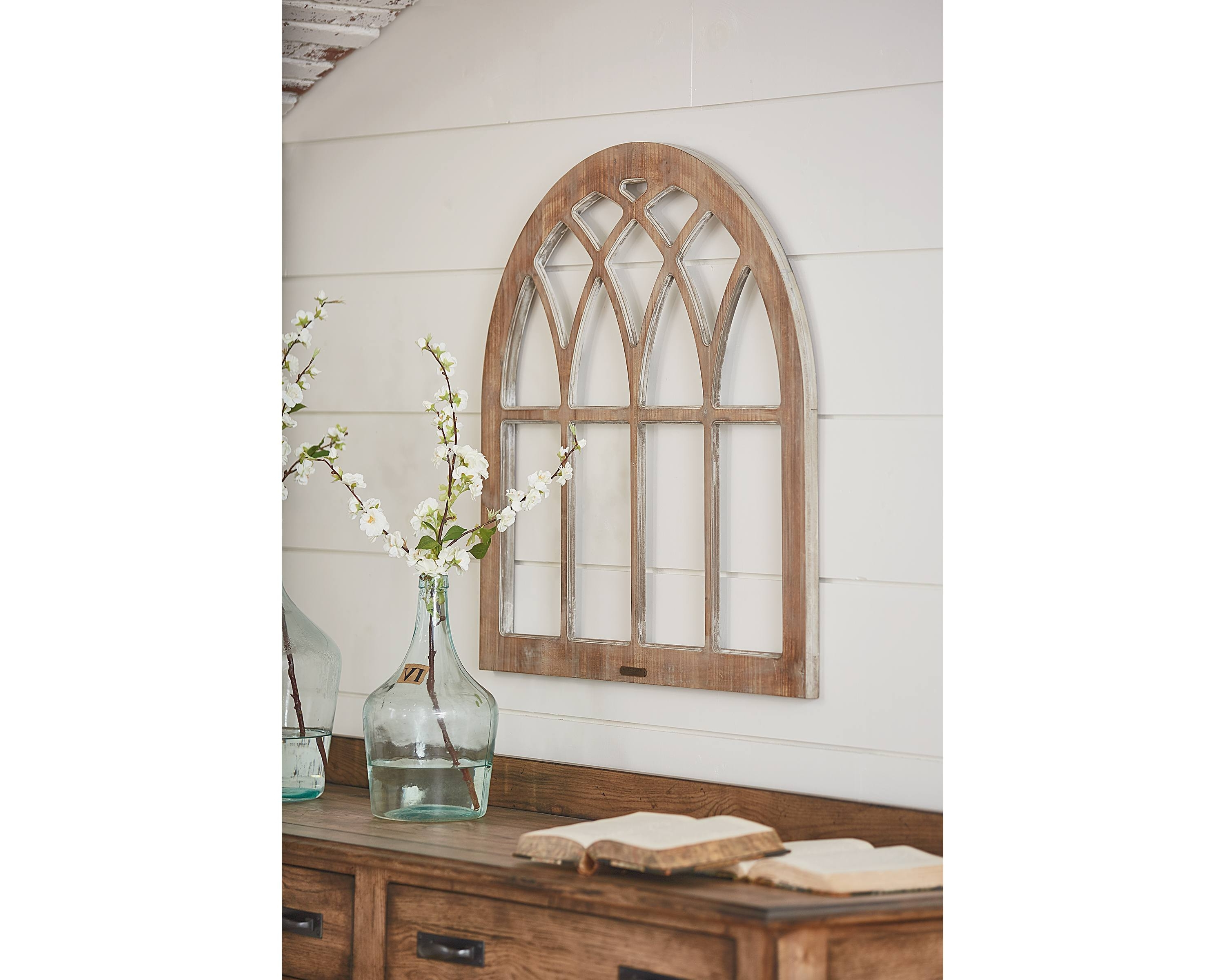 Most Recently Released Cathedral Window Frame Wall Decor – Magnolia Home In Window Frame Wall Art (View 6 of 15)