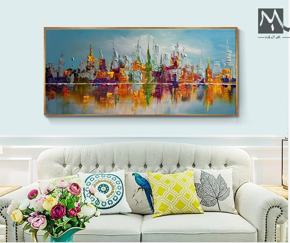 Most Recently Released Cheap Large Wall Art Inside Online Cheap Large Canvas Wall Art Abstract Modern Decorative (Gallery 3 of 20)