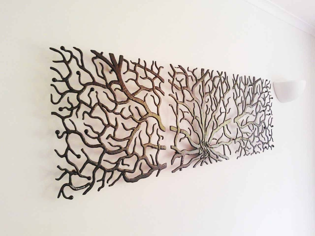 Most Recently Released Contemporary Metal Wall Art Decor Sculpture Calm Spring Tree With Pertaining To Metal Wall Art Trees (View 13 of 20)
