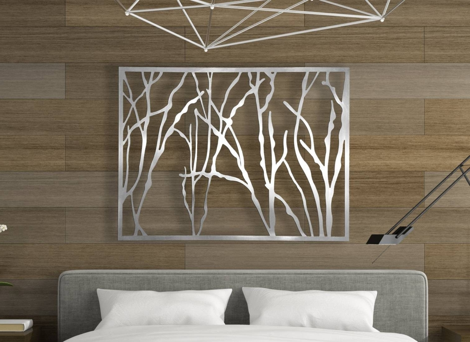Most Recently Released Dark Outdoor Metal Wall Art Panels Laser Cut Metal Decorative Wall With Regard To Outdoor Metal Wall Art (View 15 of 15)