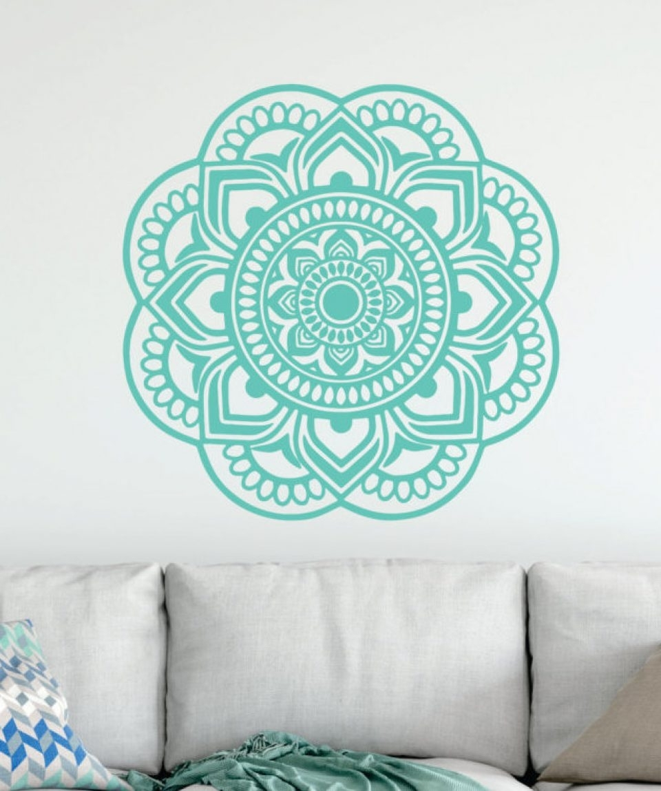 Most Recently Released Mandala Wall Art Workshop – Mezany Within Mandala Wall Art (View 15 of 20)