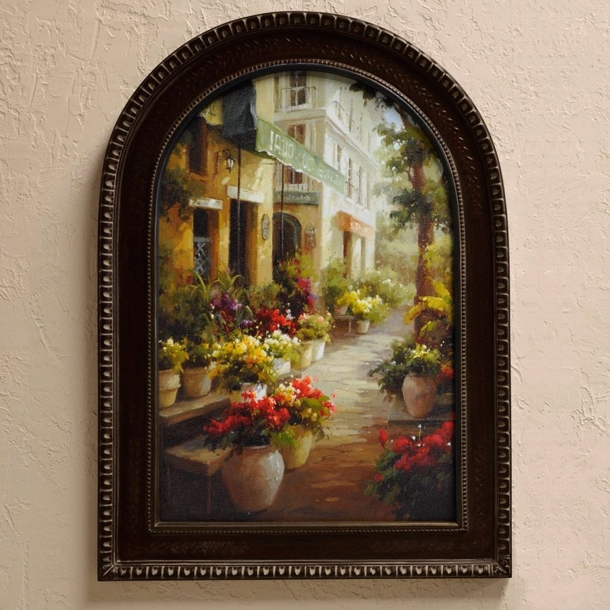 Most Up To Date Chemin De Fleur' So French Country. Find This Street Of Flowers With Tuscan Wall Art (Gallery 5 of 20)