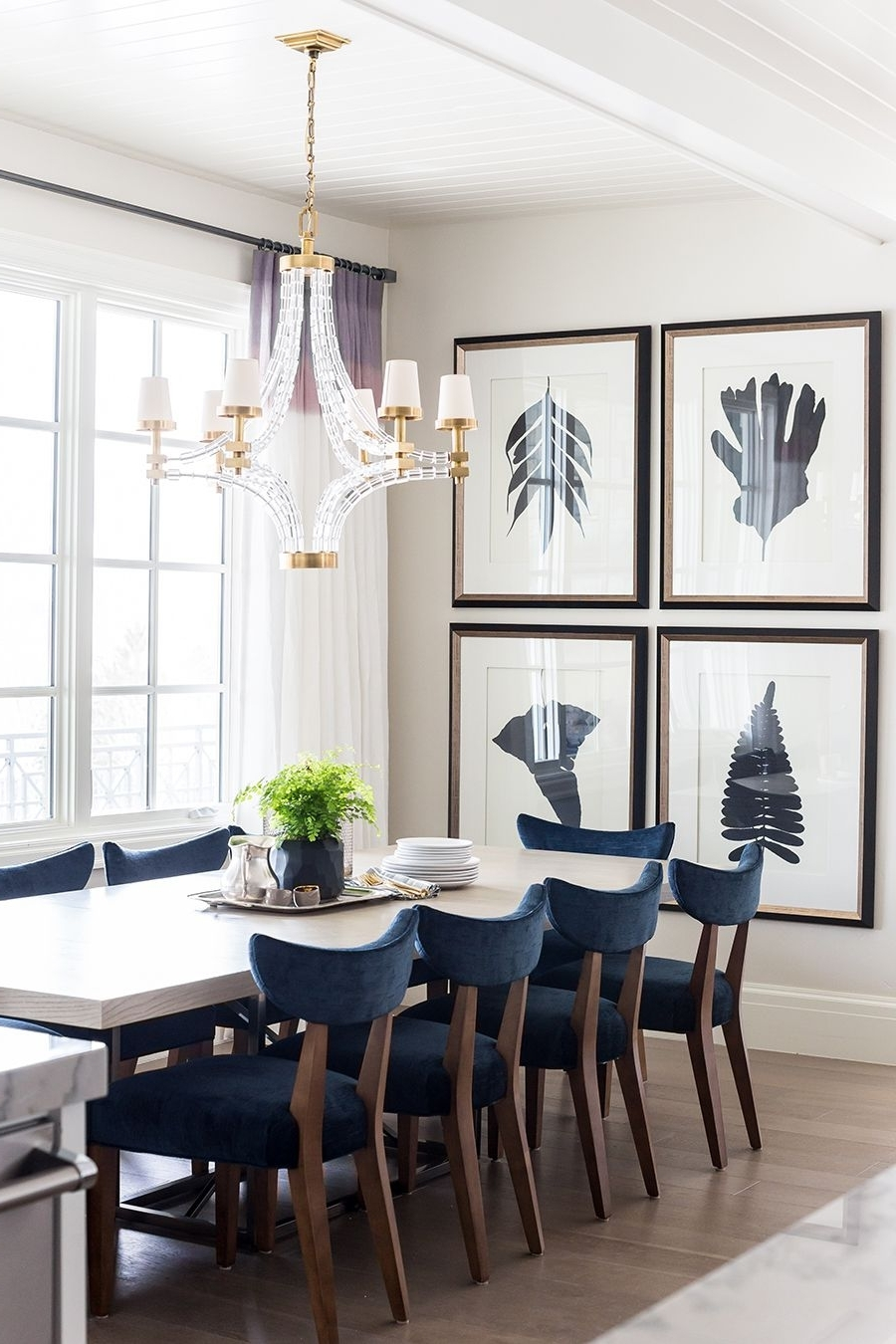 Most Up To Date Dining Room Wall Art For Styled Space} Emily Jackson Of The Ivory Lane's Beautiful Utah Home (View 11 of 15)