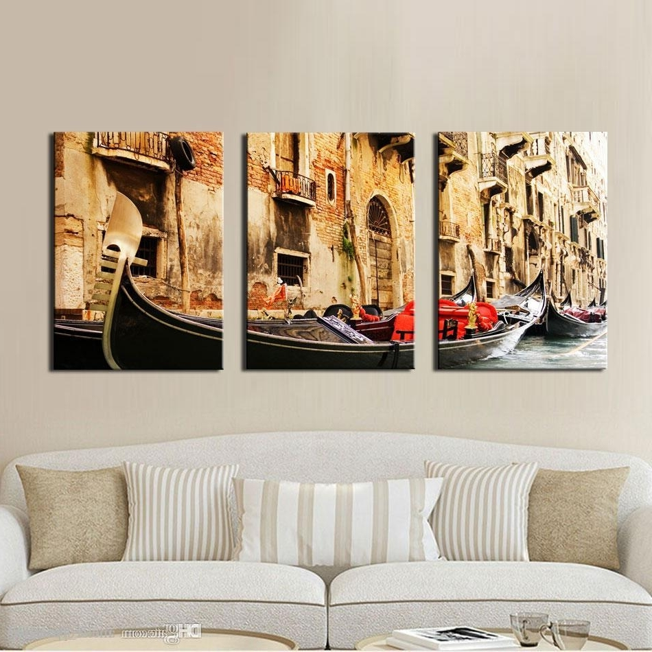 Most Up To Date Discount 3 Panel Wall Art Painting On Canvas Oil Painting Famous For Discount Wall Art (View 16 of 20)