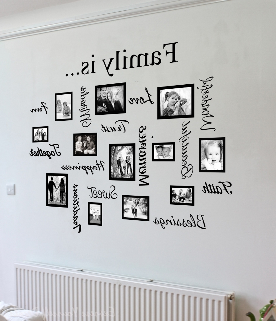 Most Up To Date Impressive Family Name Metal Wall Art Family The Ones We Family With With Regard To Word Wall Art (View 10 of 20)