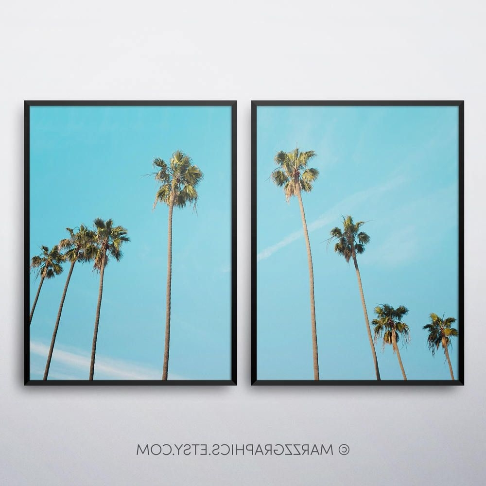 Most Up To Date Palm Trees Printable, Palm Trees Print, Palm Trees Wall Art, Palm With Regard To Palm Tree Wall Art (View 10 of 20)