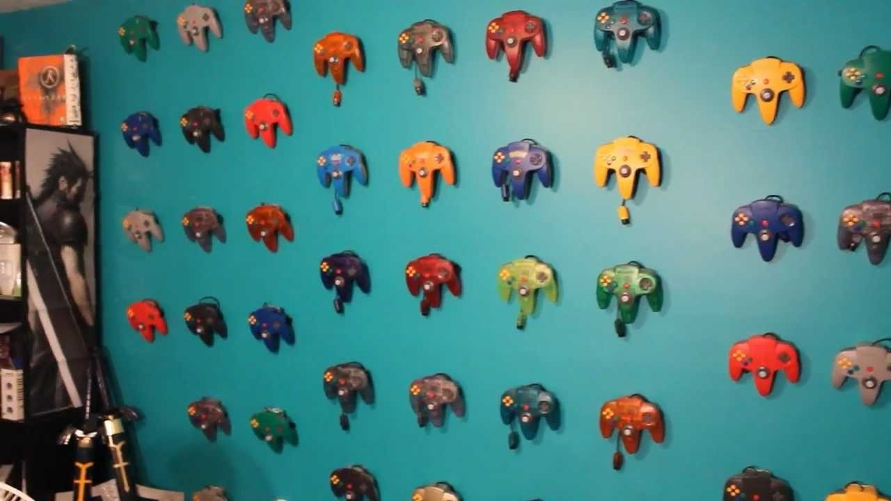 My Controller Wall Art – Youtube Intended For Preferred Nintendo Wall Art (View 8 of 20)