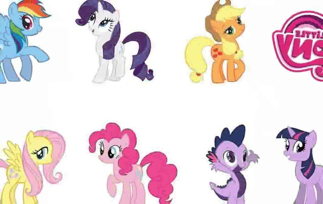My Little Pony Wall Decals – Chocaric – Youtube Within Favorite My Little Pony Wall Art (View 13 of 20)