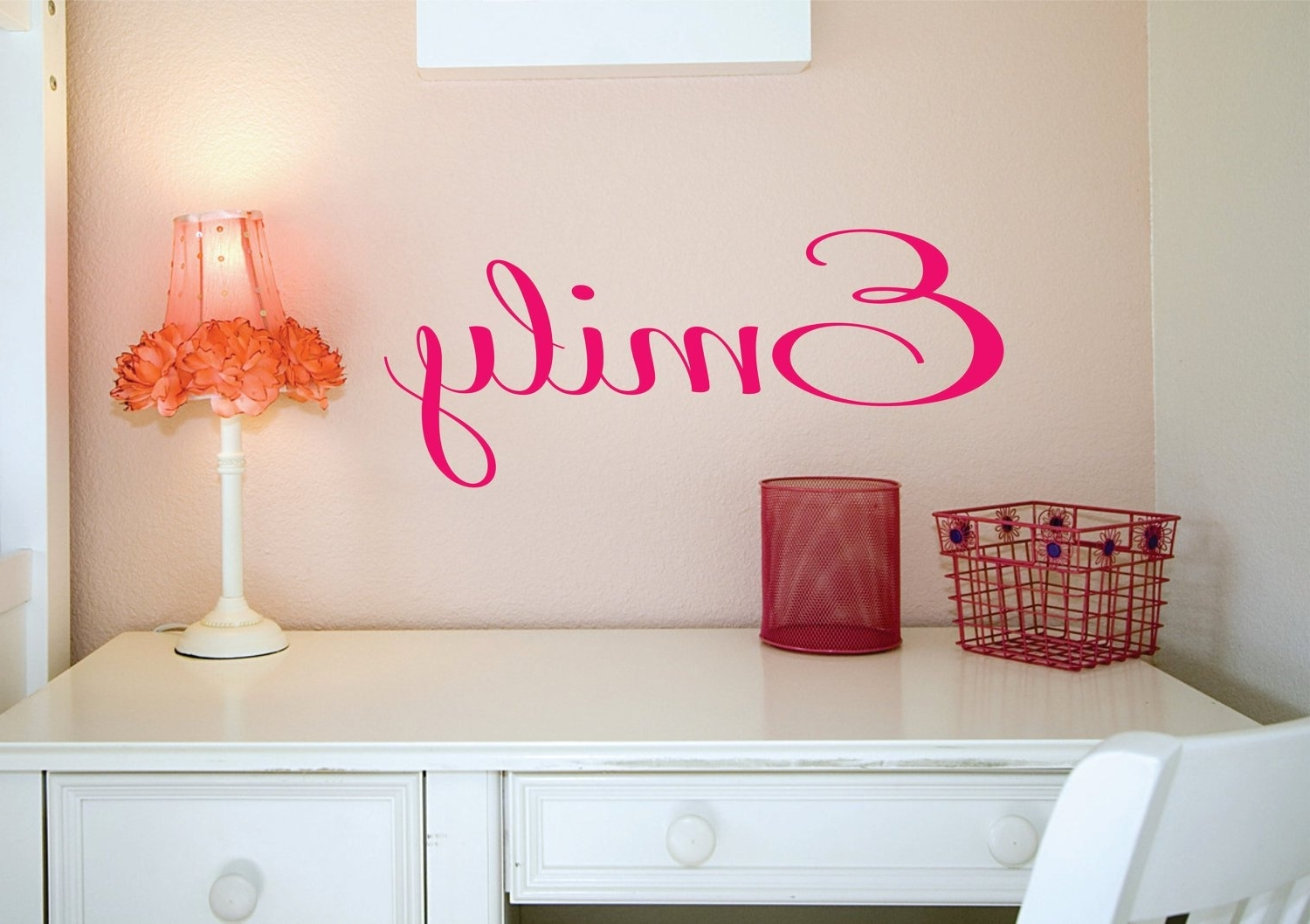 Name Wall Art For Well Liked Name Sign, Custom Name Decal, Vinyl Decal, Wall Decals, Kids Room (View 19 of 20)
