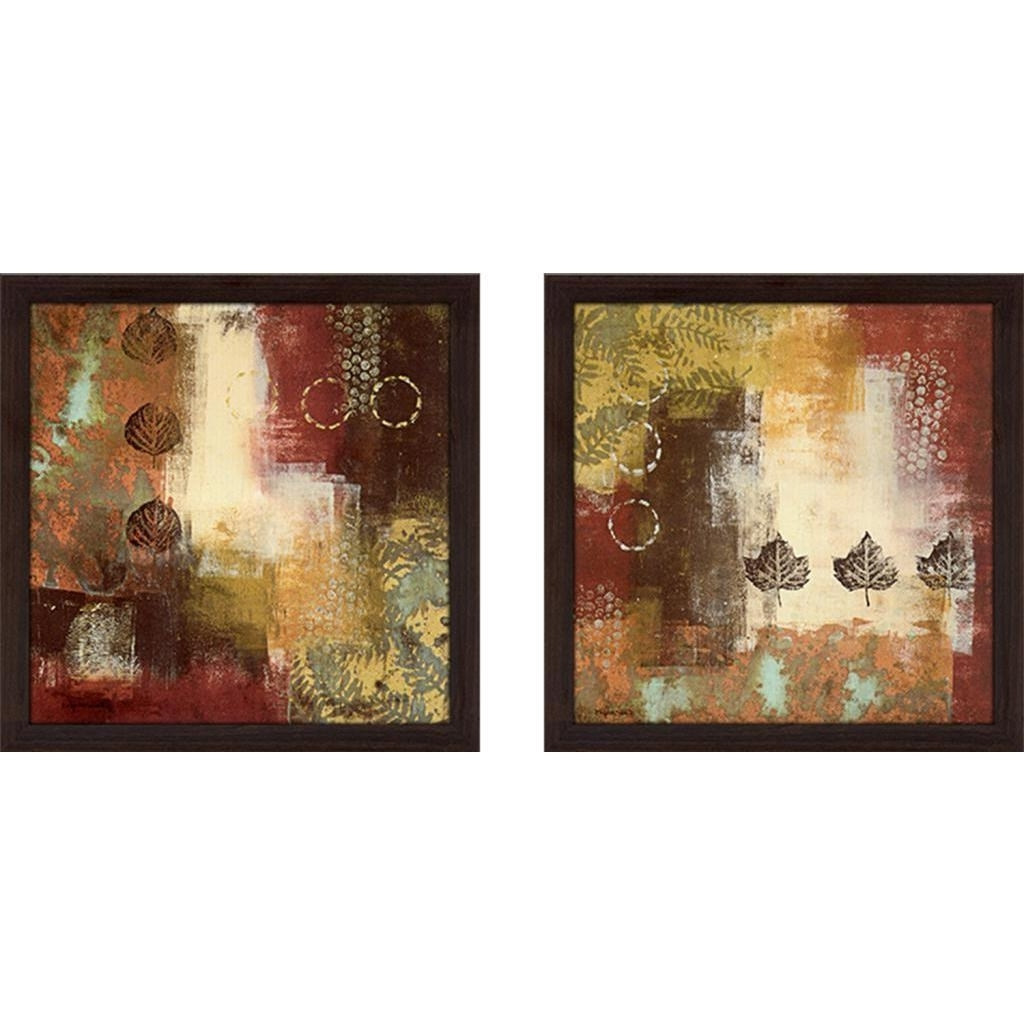 "Nature Wall Art With Regard To Most Recently Released Shop ""metallic Nature"" Wall Art Set Of 2, Matching Set – Free (View 19 of 20)"