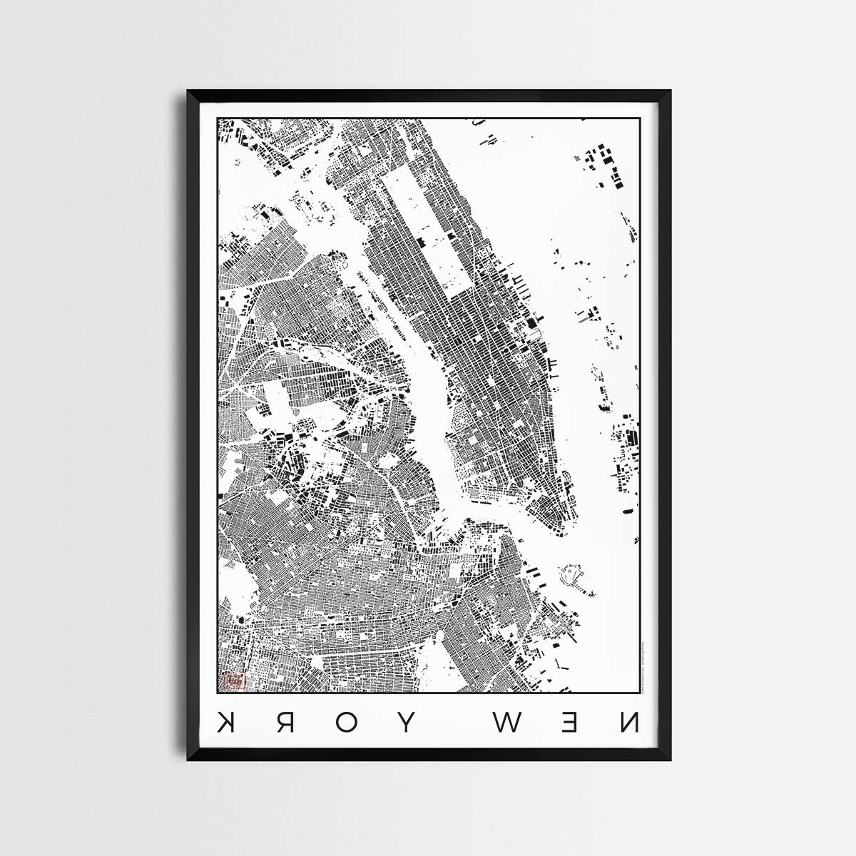 New York City Map Print Amazon Com Subway Poster Nyc – Smartsync Within Most Popular New York Subway Map Wall Art (View 6 of 20)
