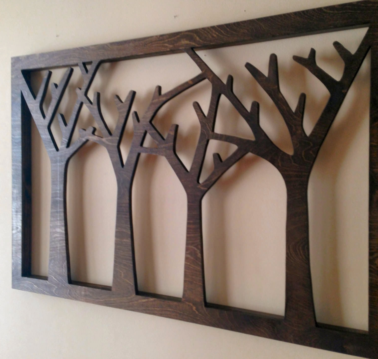 Newest 12+ Wood Wall Art Designs (Gallery 11 of 15)
