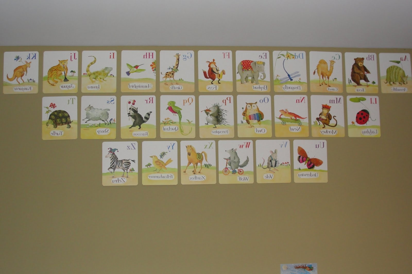 Newest Alphabet Wall Art Intended For Accessories: Extraordinary Picture Of Colorful Newspaper Letter (Gallery 13 of 20)
