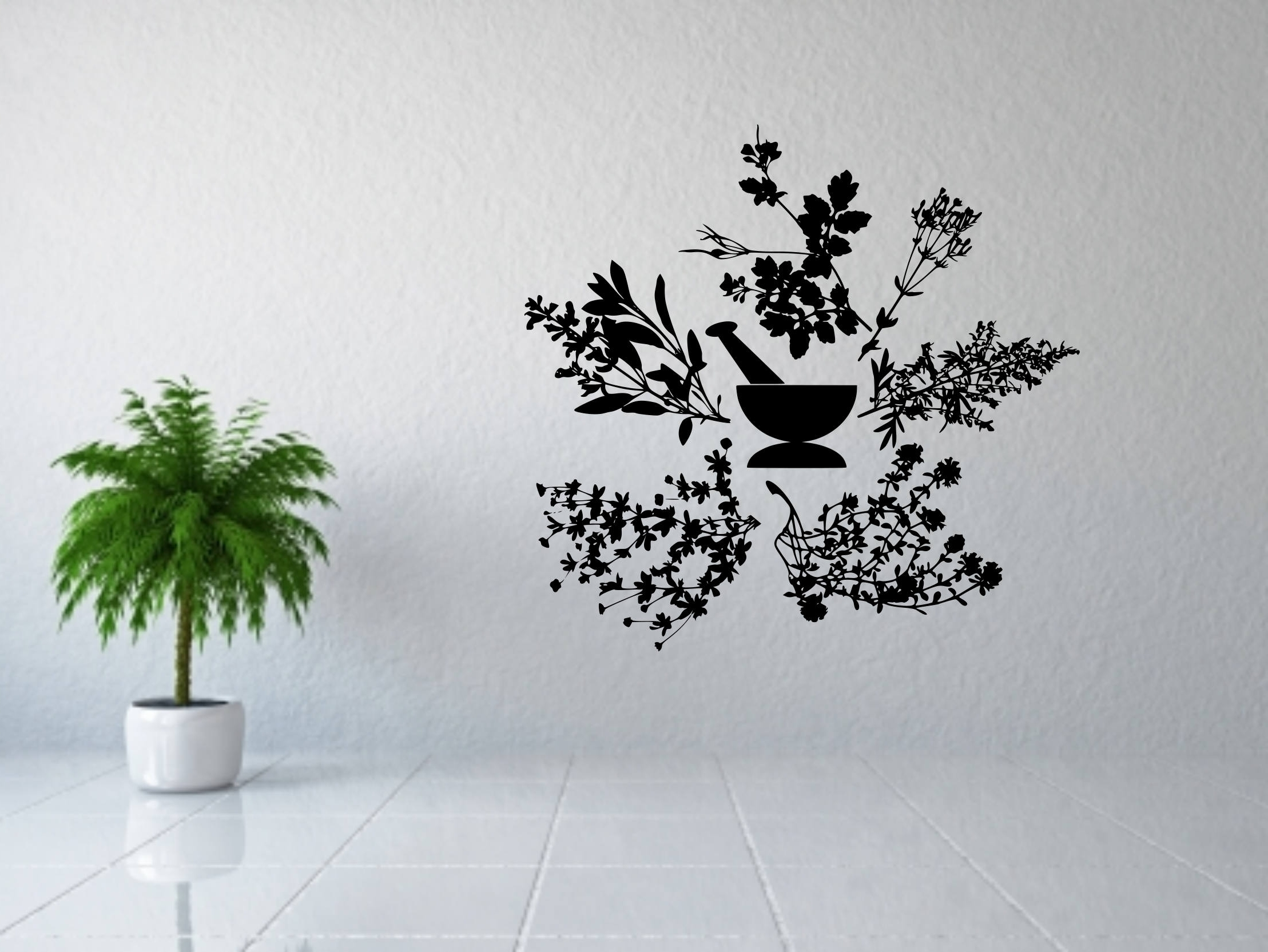 Newest Apothecary Wall Art, Apothecary Sign, Apothecary Decor, Herbs Decal With Herb Wall Art (View 18 of 20)