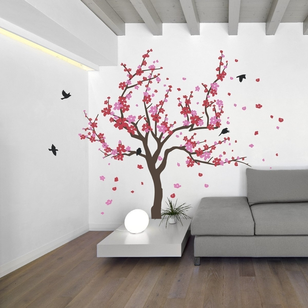 Newest Cherry Blossom Wall Art Inside Cherry Blossom Wall Art – Amthuchanoi (View 11 of 20)