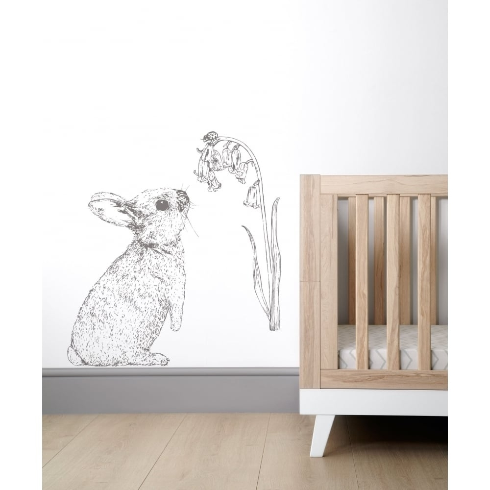 Newest Mamas & Papas Wall Art – Rabbit – Bedding, Nursery & Moses Baskets In Bunny Wall Art (Gallery 2 of 20)