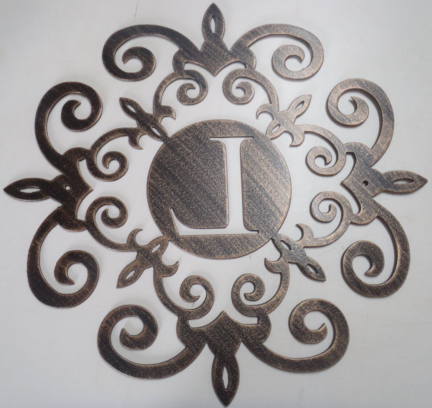Newest Monogram Wall Art Metal – Culturehoop Inside Monogram Wall Art (View 20 of 20)