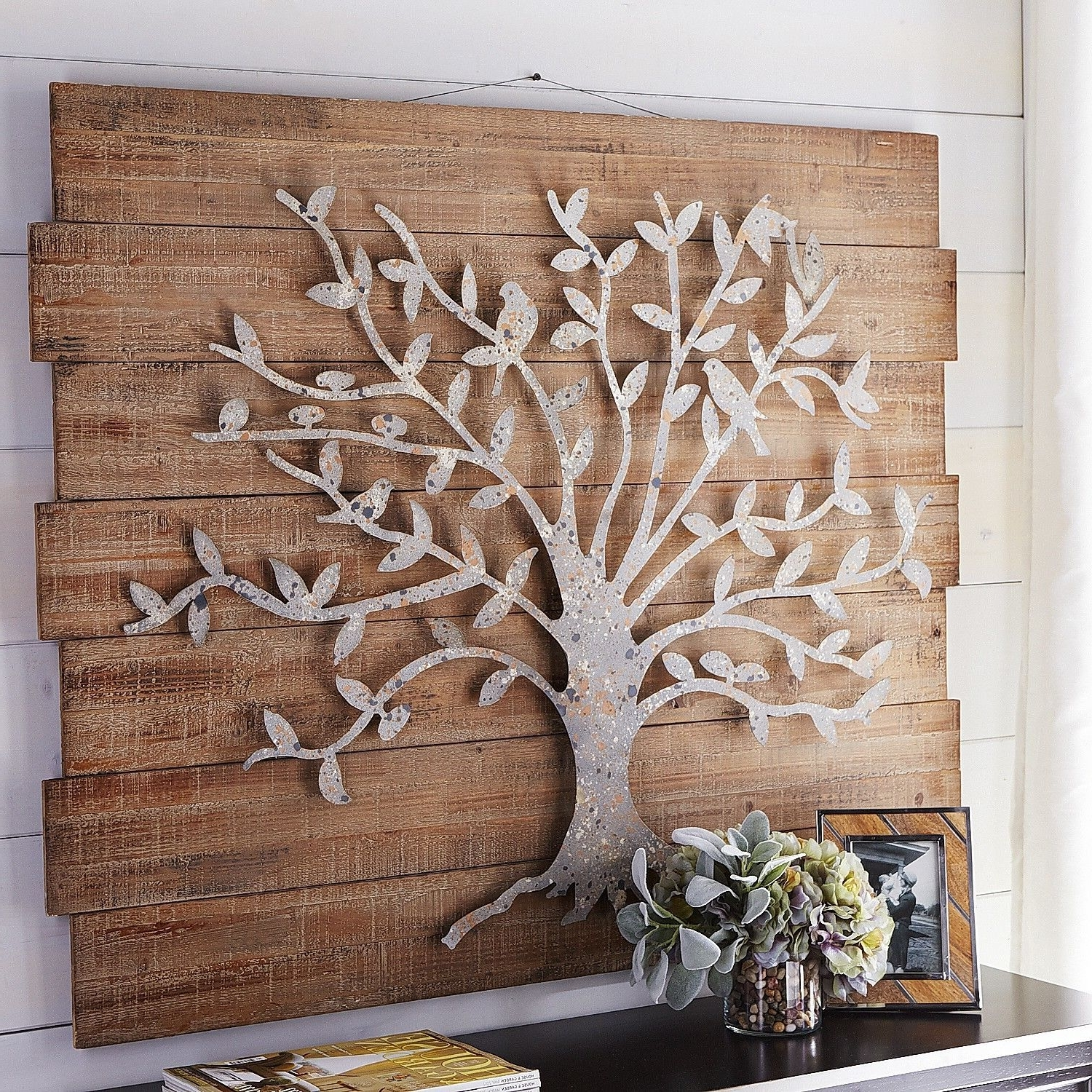 Newest Unique Metal Tree With Birds Wall Art Good Ideas Large Metal Tree Intended For Large Metal Wall Art (View 10 of 15)