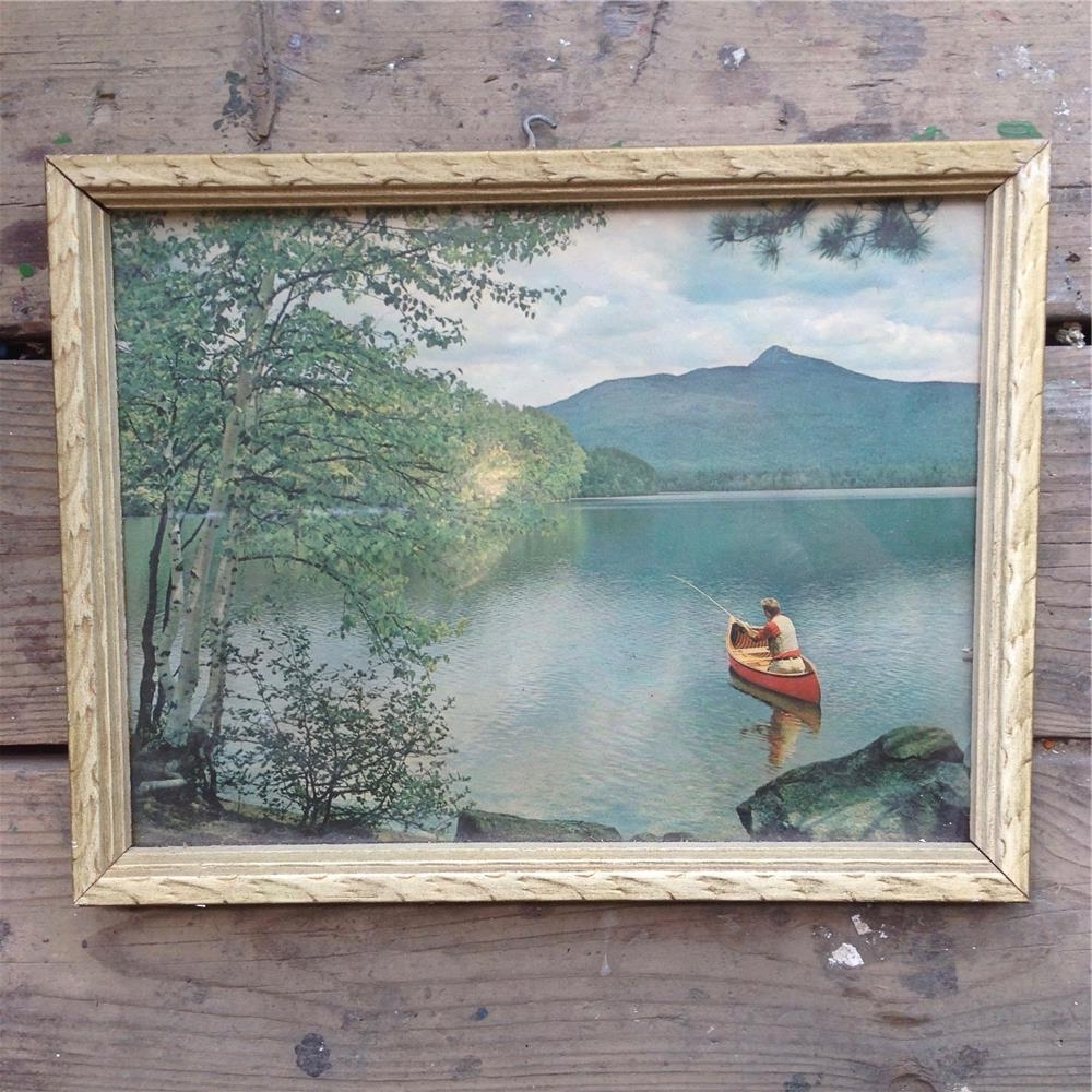Newest Vintage Wall Art / Wilderness Wall Art – Toronto Antique Vintage Shop With Vintage Wall Art (View 5 of 15)
