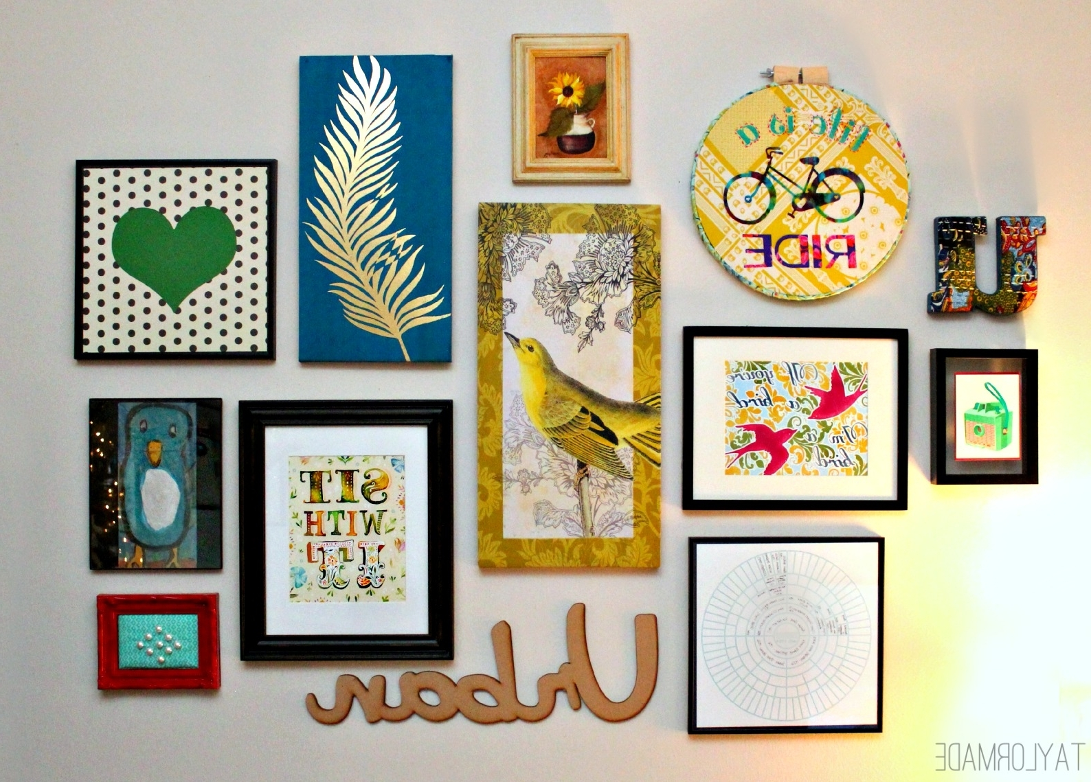 Newest Wall Art Diy – Talentneeds – Intended For Wall Art Diy (View 9 of 20)