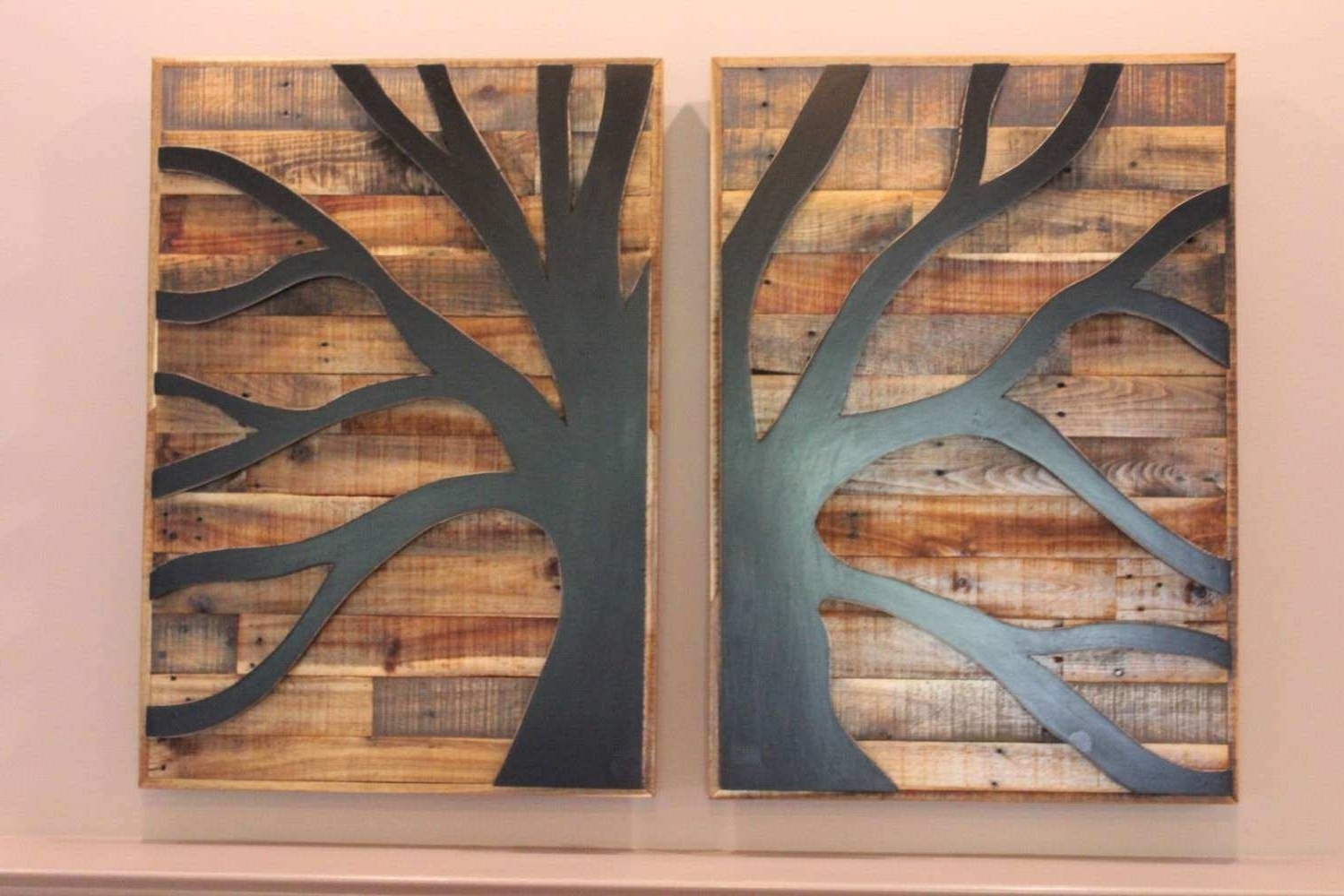 Newest Wood Pallet Wall Art Fresh Pallet Wood Tree Of Life Pallet Wood Wall With Regard To Pallet Wall Art (View 5 of 15)